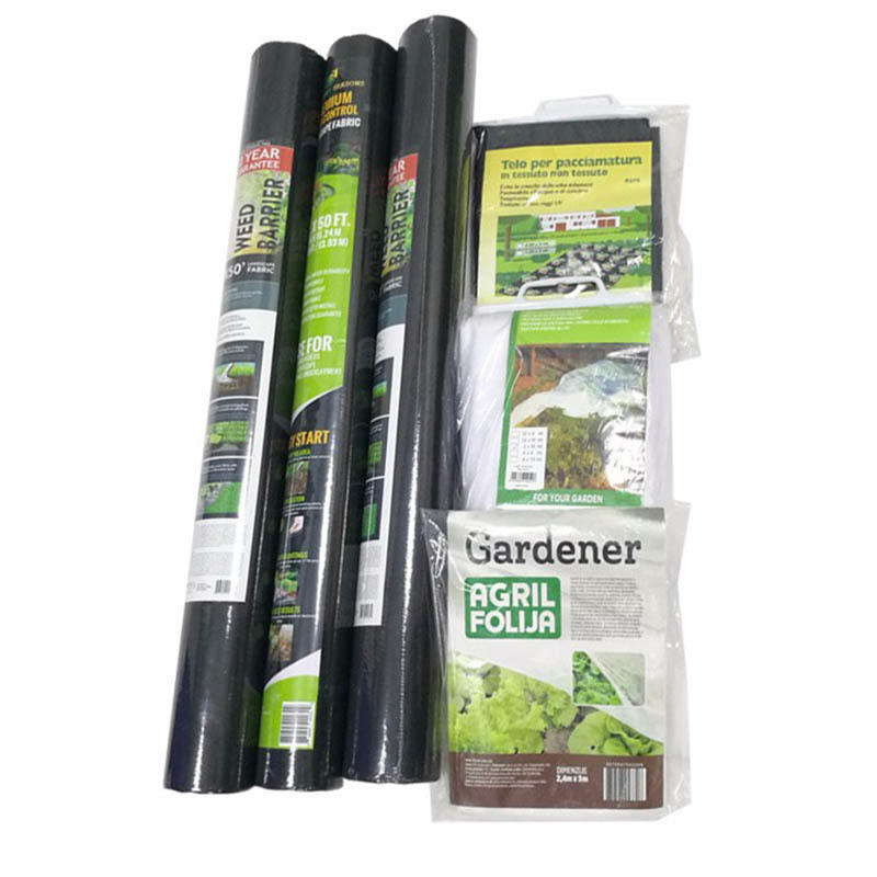 100%Polypropylene Nonwoven Weed Barrier/Weed Control Mat/Anti Grass Cloth/Plant Cover Landscape Fabric