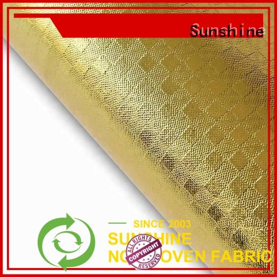 Sunshine laminated non woven fabric manufacturer for home