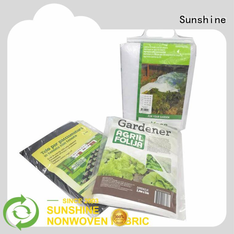 Sunshine weed control fabric wholesale for farm