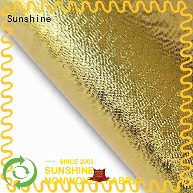Sunshine durable laminated fabric with good price for hospital