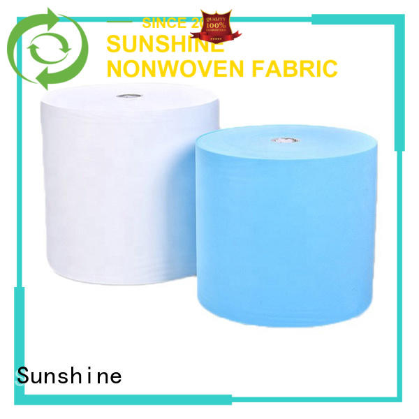 Sunshine medical disposable non woven bed sheet odm for bedding