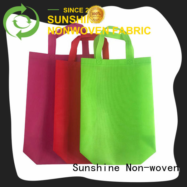 Sunshine single non woven carry bags personalized for bedroom