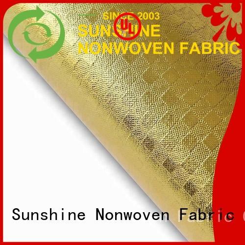 Sunshine laminated non woven fabric manufacturer for hospital