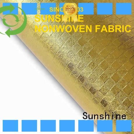 Sunshine rolls laminated non woven fabric design for hospital