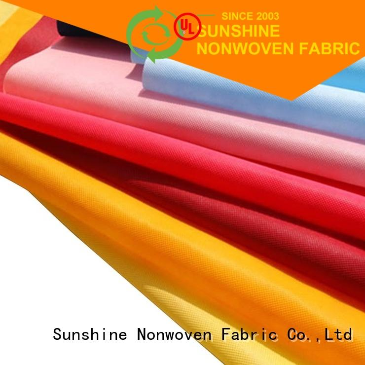 Sunshine jointed non woven cloth from China for packing