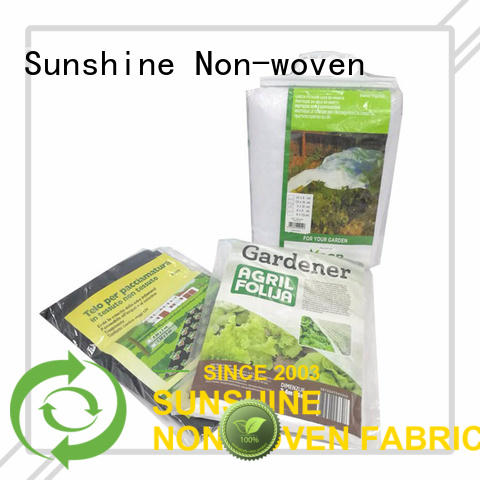 Sunshine ground landscape fabric wholesale for farm