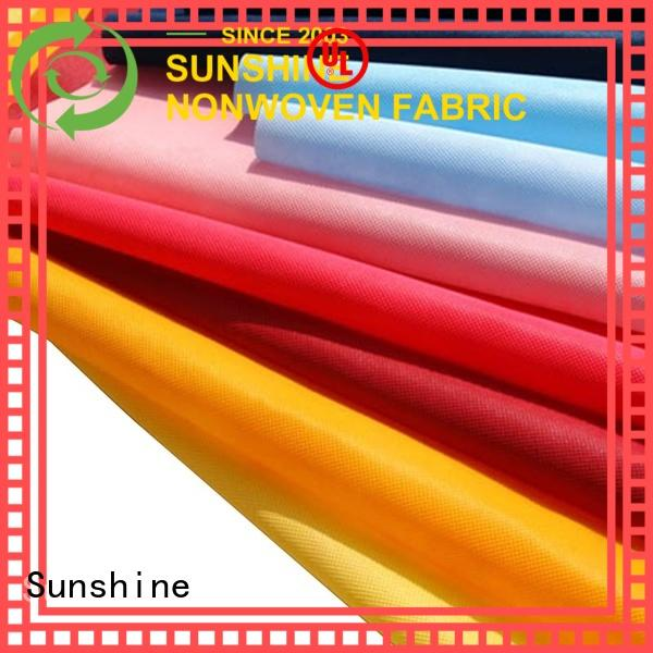 Sunshine nonwoven non woven cloth customized for shoes cover