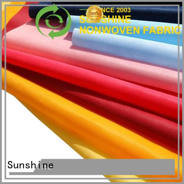 high quality non woven fabric polypropylene supplier for shopping bag