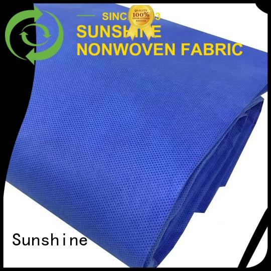 Sunshine breathable sms non woven personalized for bed sheet