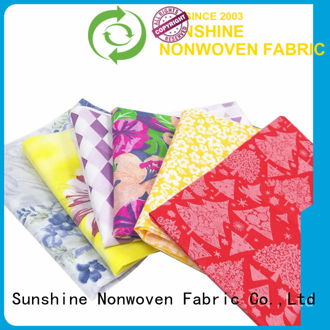 banquet non woven bag printing printed factory for bedding