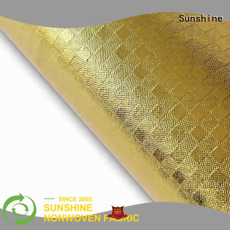 Sunshine laminated fabric inquire now for bedsheet