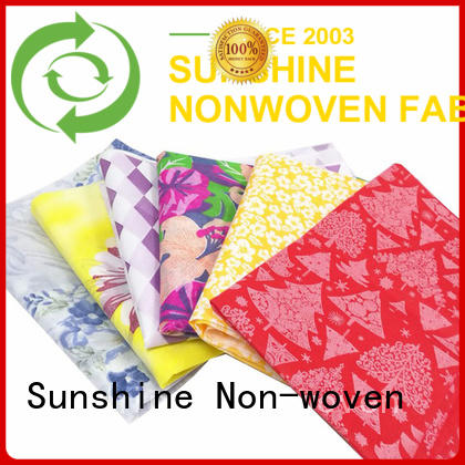 Sunshine banquet nonwoven printing wholesale for bedding