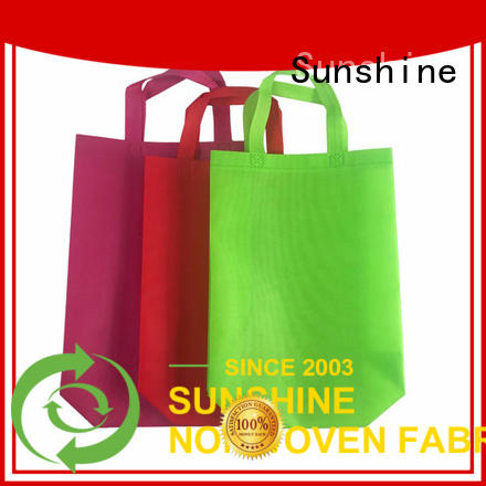 Sunshine disposable nonwoven bags directly sale for household