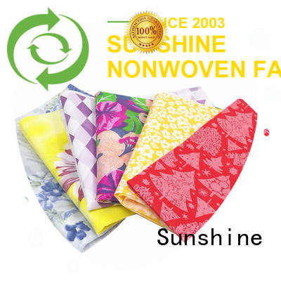 Sunshine nonwoven printing series for covers