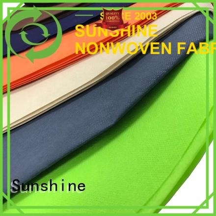 Sunshine textile polypropylene spunbond nonwoven fabric factory for shop
