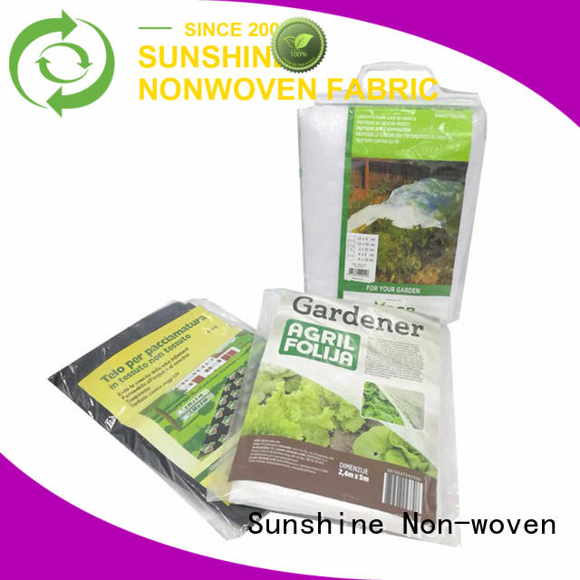 Sunshine grass weed control fabric factory for greenhouse