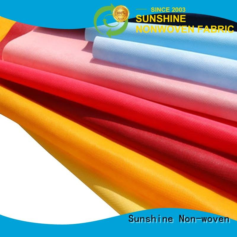 high quality non woven cloth fabric oem for shopping bag