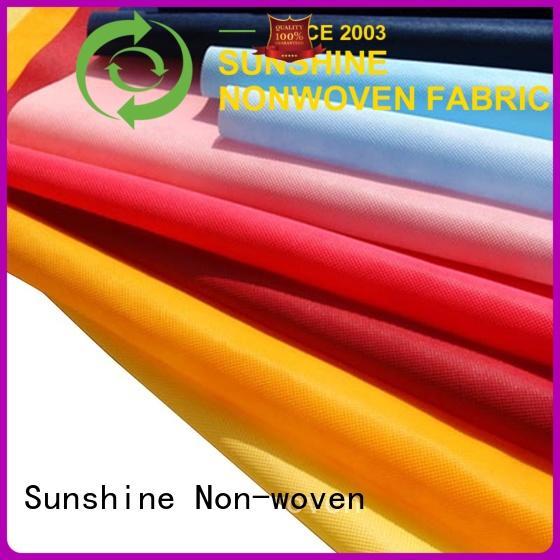Sunshine polypropylene non woven cloth factory price for bag