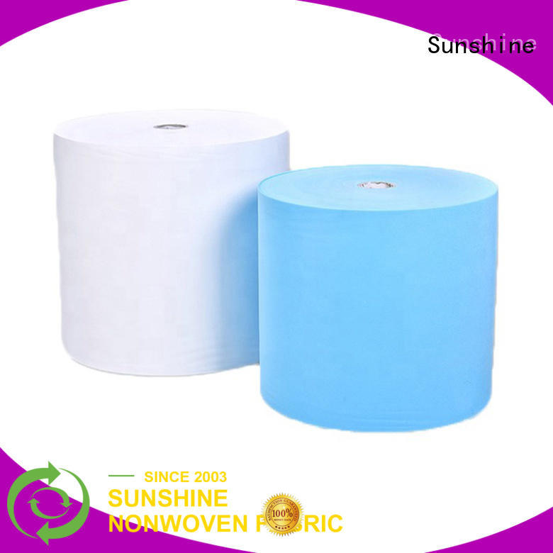 Sunshine non woven sheet from China for bedding