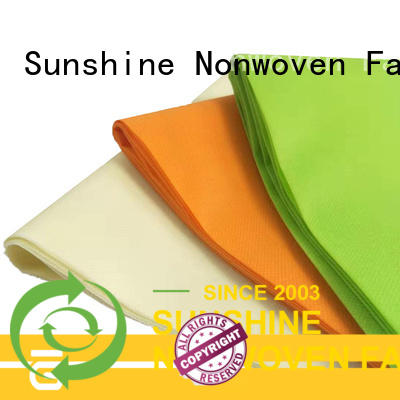 Sunshine bright spunbond polypropylene fabric factory for packaging
