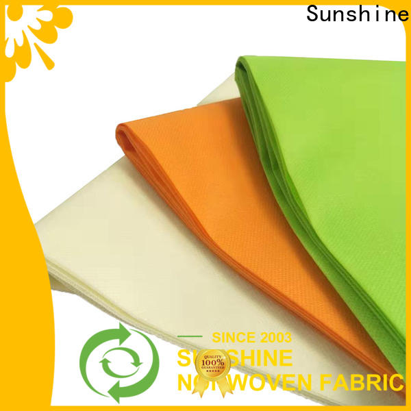 Sunshine polypropylene pp nonwoven fabric directly sale for packaging