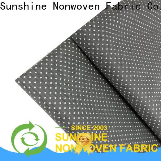 Sunshine anti-skid non skid fabric supplier for toilet