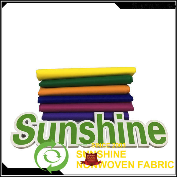 Sunshine creditable non woven fabric manufacturer for gifts