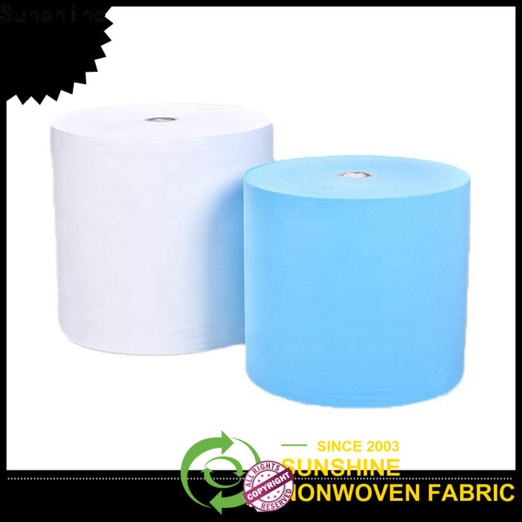 Sunshine bright non woven sheet from China for bedding