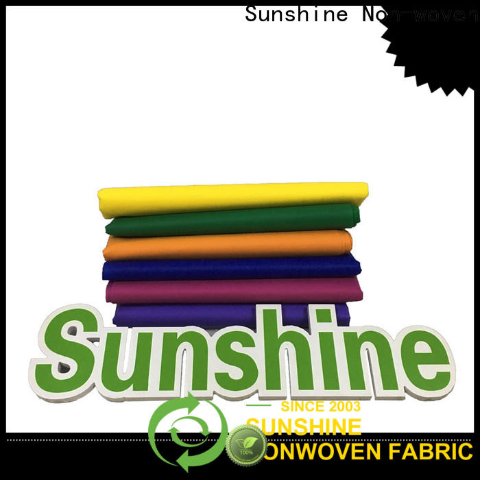 Sunshine spunbond what is non woven cloth design for gifts