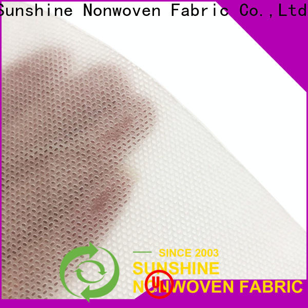 Sunshine roll hydrophilic nonwoven fabric manufacturer for baby