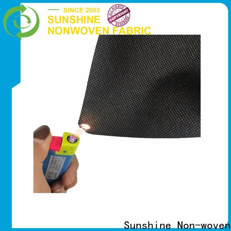 Sunshine retardant flame retardant fabric customized for bag