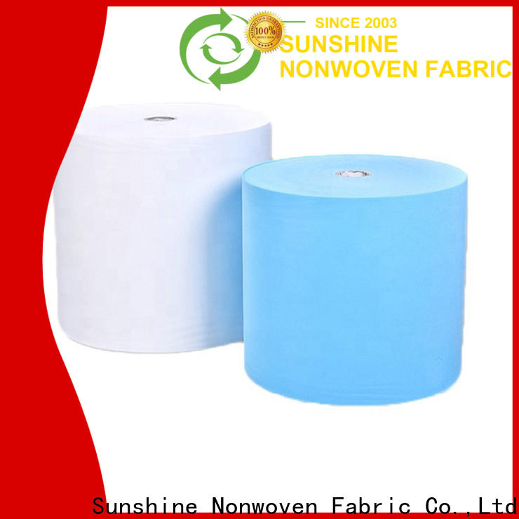 Sunshine medical disposable non woven bed sheet oem for bedding