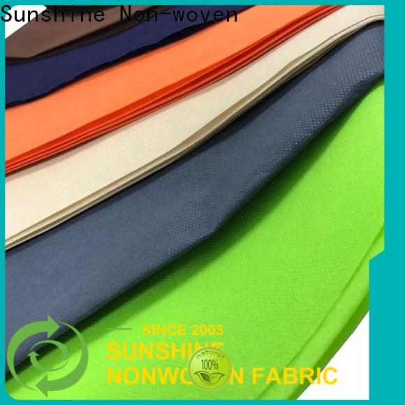 Sunshine spunbond pp nonwoven fabric wholesale for wrapping