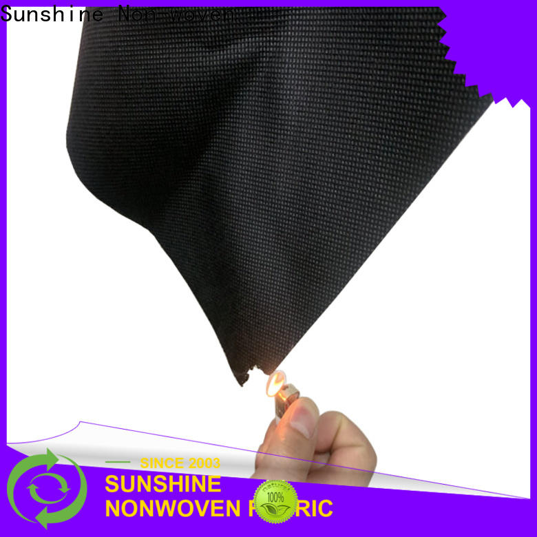 Sunshine pp fire retardant fabric supplier for table cover