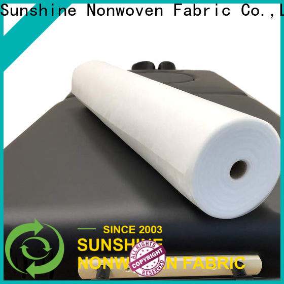 Sunshine perforated non woven sheet customized for bedding