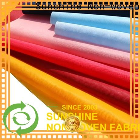 Sunshine fabric non woven cloth from China for shopping bag