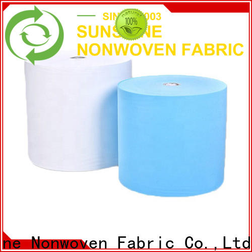 Sunshine disposable disposable non woven bed sheet oem for bedding