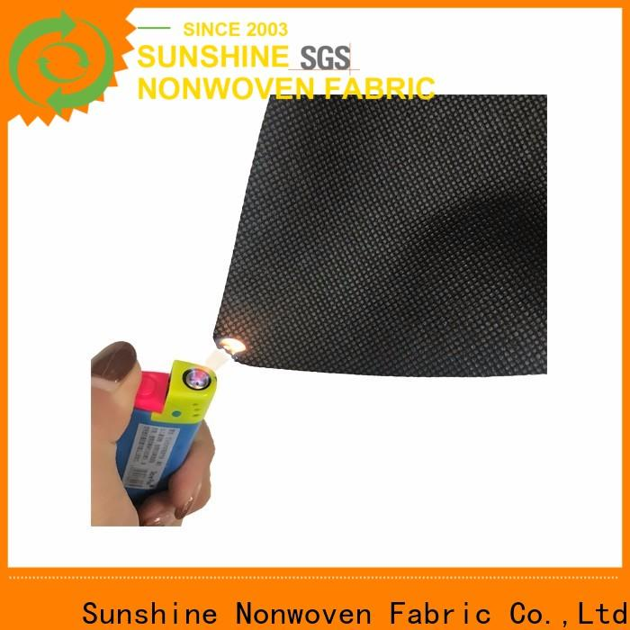 Sunshine spring fire retardant fabric supplier for shopping bag