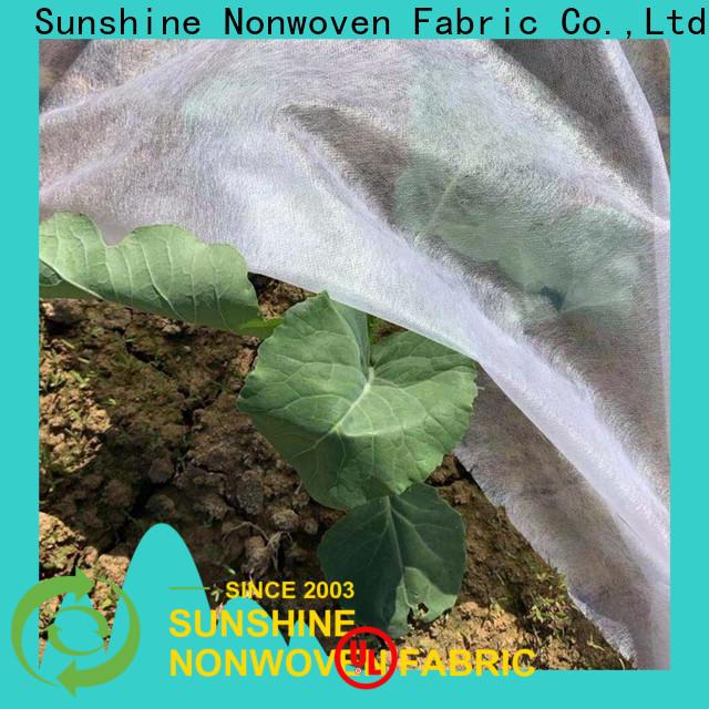 Sunshine approved landscape fabric wholesale for farm