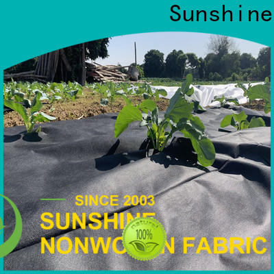 Sunshine woven weed control fabric personalized for farm