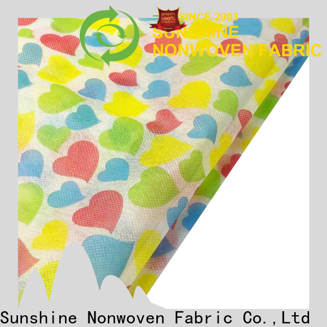 Sunshine polypropylene non woven bag printing personalized for table