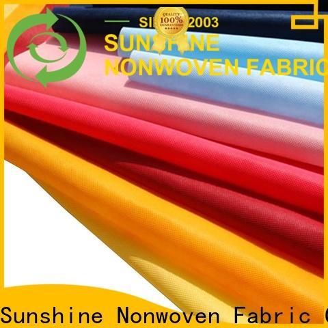 Sunshine durable non woven fabric supplier for shopping bag