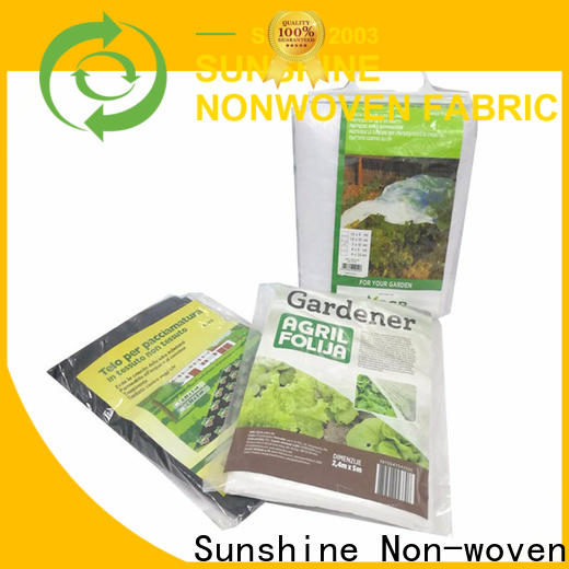 Sunshine quality landscape fabric personalized for greenhouse