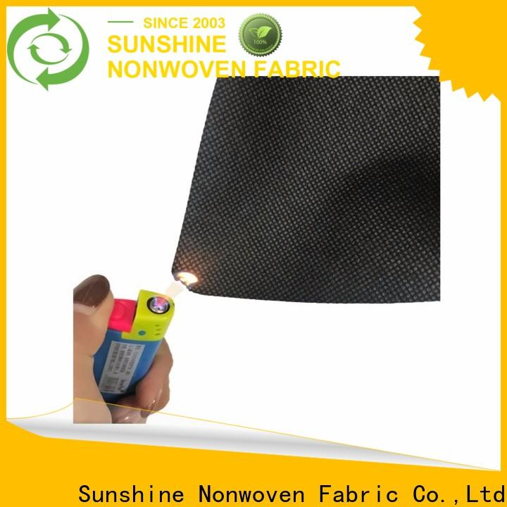 Sunshine extra wide flame retardant fabric supplier for bedding