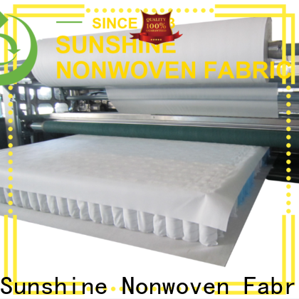 Sunshine quilting waterproof non woven fabric from China for furniture