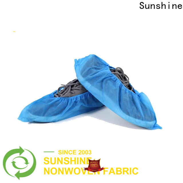 Sunshine printing non woven shoes cover with good price for shoes