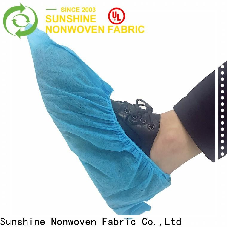 Sunshine soft non woven shoes cover manufacturer for medical