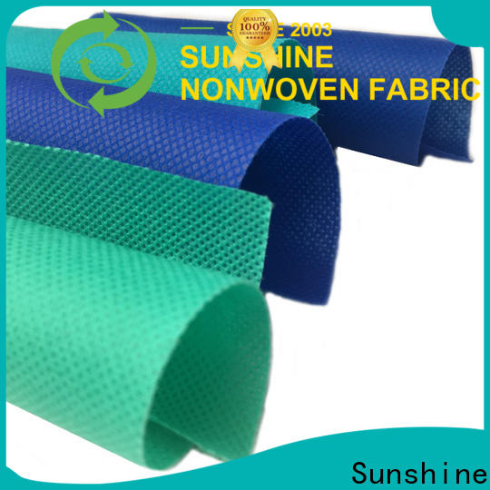 Sunshine comfortable pp nonwoven fabric directly sale for shop