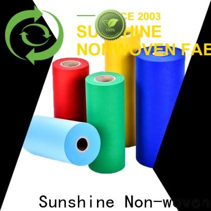 bright pp spunbond nonwoven non series for packaging