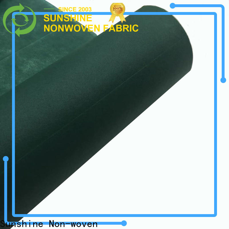 disposable perforated non woven fabric usage design for hospital